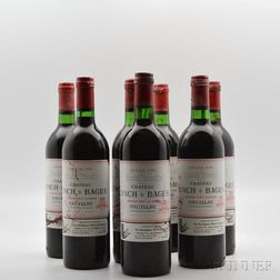 Chateau Lynch Bages 1982, 7 bottles