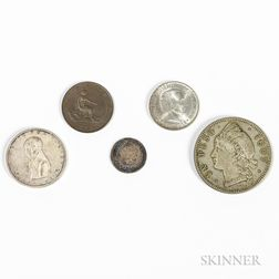 Five World Coins