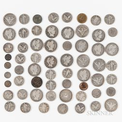 Group of Mostly American Coins