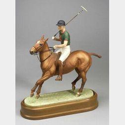 Royal Worcester Bone China Figure of the Duke of Edinburgh