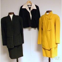 Three Oscar de la Renta Lady's Garments