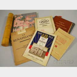 Olympics and Sports, Pamphlets, One Rolled Document in Case:
