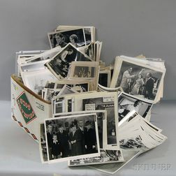 Large Group of Black and White Hollywood Movie Stills Photographs