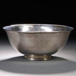 Arthur Stone Arts & Crafts Sterling Silver Revere Bowl