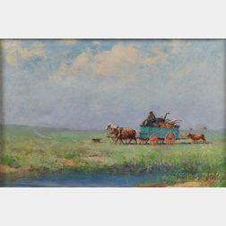 Fred Pye (American, 1882-1964)      The Wagon
