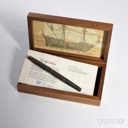 """Spanish Treasure Silver Parker """"75"""" Fountain Pen"""