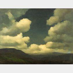 Francis Stillman Dixon (American, 1879-1967)  Evening in the Valley