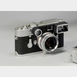 Leica M3 Camera No. 1007693