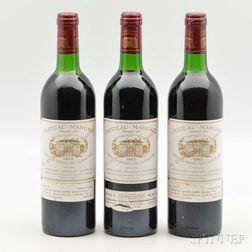 Chateau Margaux 1982, 4 bottles