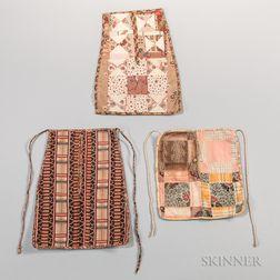 Three Sewing Pockets