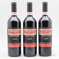 Casanuova Cerbaie Brunello di Montalcino 2004, 3 bottles