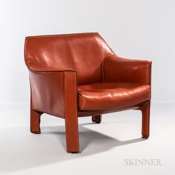 Mario Bellini for Cassina Model CAB 415 Lounge Chair