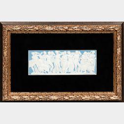 Wedgwood Light Blue Jasper Plaque