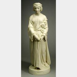 Copeland Parian Figure of Chastity