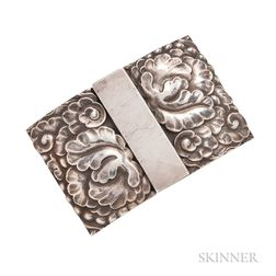 Sterling Silver Belt Buckle, Georg Jensen