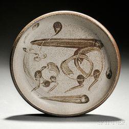 Peter Voulkos (1924-2002) Ceramic Dish