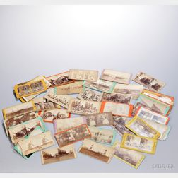 Stereoscopic Views, Approximately Fifty-eight.