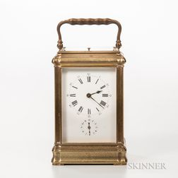 Grand Sonnerie Carriage Clock with Alarm