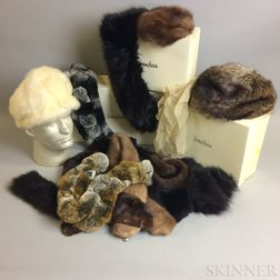 Group of Fur Accessories