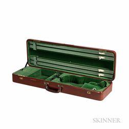 English Violin Case, W.E. Hill & Sons