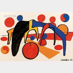 Alexander Calder (American, 1898-1976)      Petite vitesse