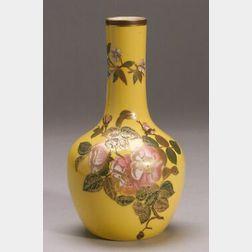 Royal Worcester Porcelain Bottle-form Vase
