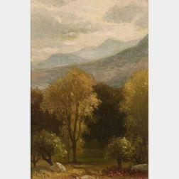 Benjamin Champney (American, 1817-1907)  North Conway