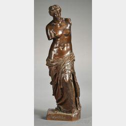 Bronze Figure of Venus de Milo