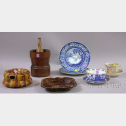 Ten Assorted Country and Decorated Ceramic Articles