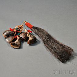 Plains Buffalo Dew Claw Rattle