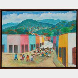 Aurelio Pescina (Mexican, 1938-1990)      Village Market