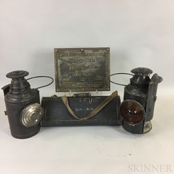 Four Railroad-related Items