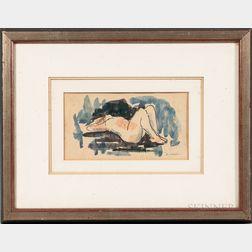Dan Walker (American, 20th Century)      Nude