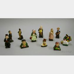 Eleven Royal Doulton Ceramic Character Figures