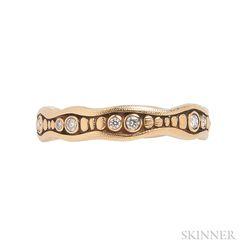 18kt Gold and Diamond Ring, Alex Sepkus