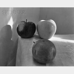 Nicholas Nixon (American, b. 1947)      Still Life with Apples
