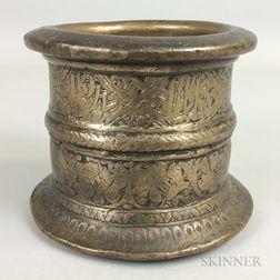 Bronze Mortar
