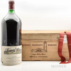 Robert Mondavi Cabernet Sauvignon Reserve 1978, 1 6 liter bottle
