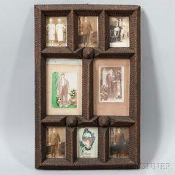 Tramp Art Frame