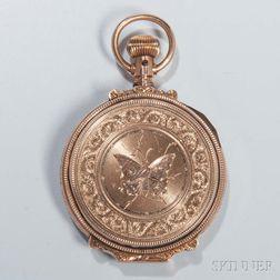 Elgin Gold-filled Hunter-case Pocket Watch