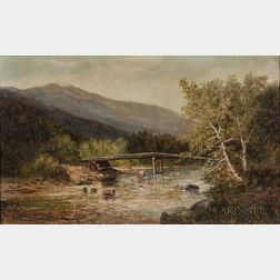 Frank Henry Shapleigh (American, 1842-1906)      Mt. Washington and Ellis River, Jackson, New Hampshire