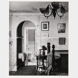 Walker Evans (American, 1903-1975)       Bedroom Interior, Storrs House, Hartford, Connecticut