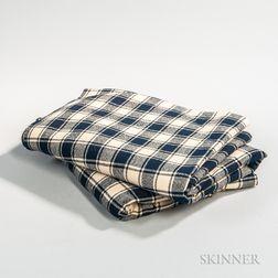 Pair of Homespun Woolen Blankets
