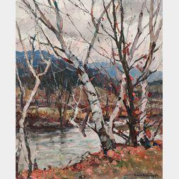 Emile Albert Gruppé (American, 1896-1978)      Gray Day Vermont