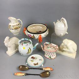 Ten Wedgwood Queen's Ware Items