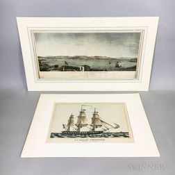 Two Hand-colored Engravings