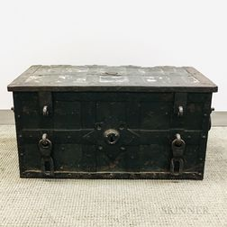 Large Iron Strong Box