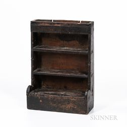 Miniature Stepback Cupboard