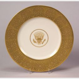 Presidential Bone China Service Plate