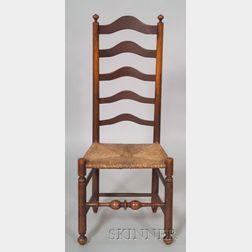 Maple Slatback Side Chair